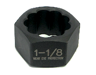 "Rib Nut 13/16"" Grey Pneumatic 2415 - Impact Socket - Texas Tire Supplies"