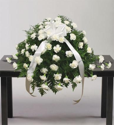 Heavenly Splendor Casket Spray