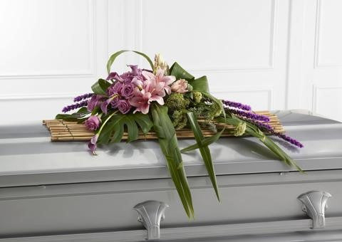The FTD Affection Casket Spray