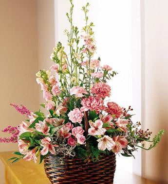 The FTD Exquisite Memorial Basket