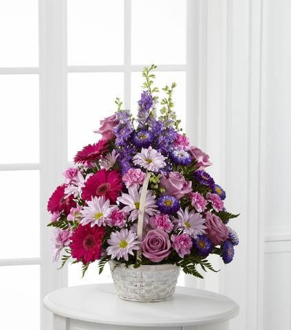 The FTD Pastel Peace Basket (S29-4503d)