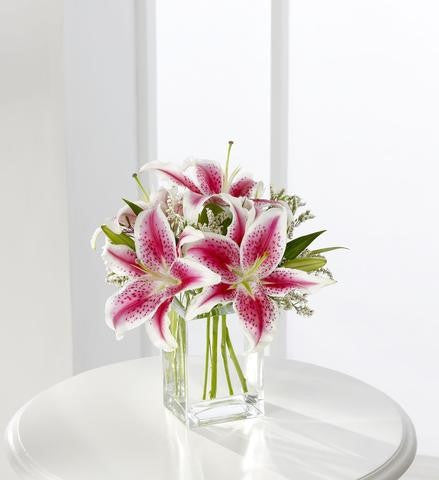 The FTD Pink Lily Bouquet (S22-4298)