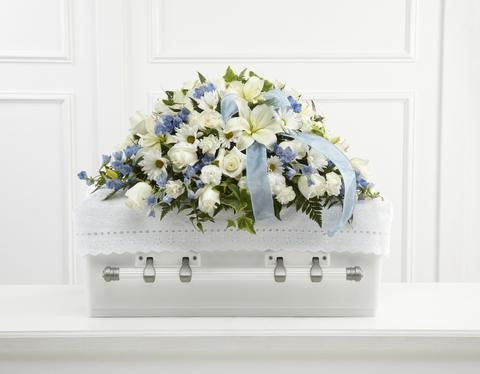 The FTD Tender Treasure Casket Spray (S46-4549)