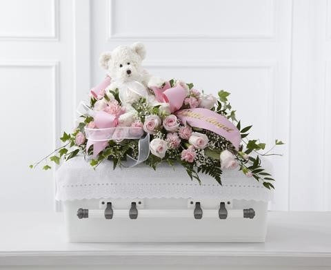 The FTD Touch of Sympathy Casket Spray (S47-4555)