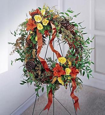 The Flourishing Garden Wreath | S20-3152