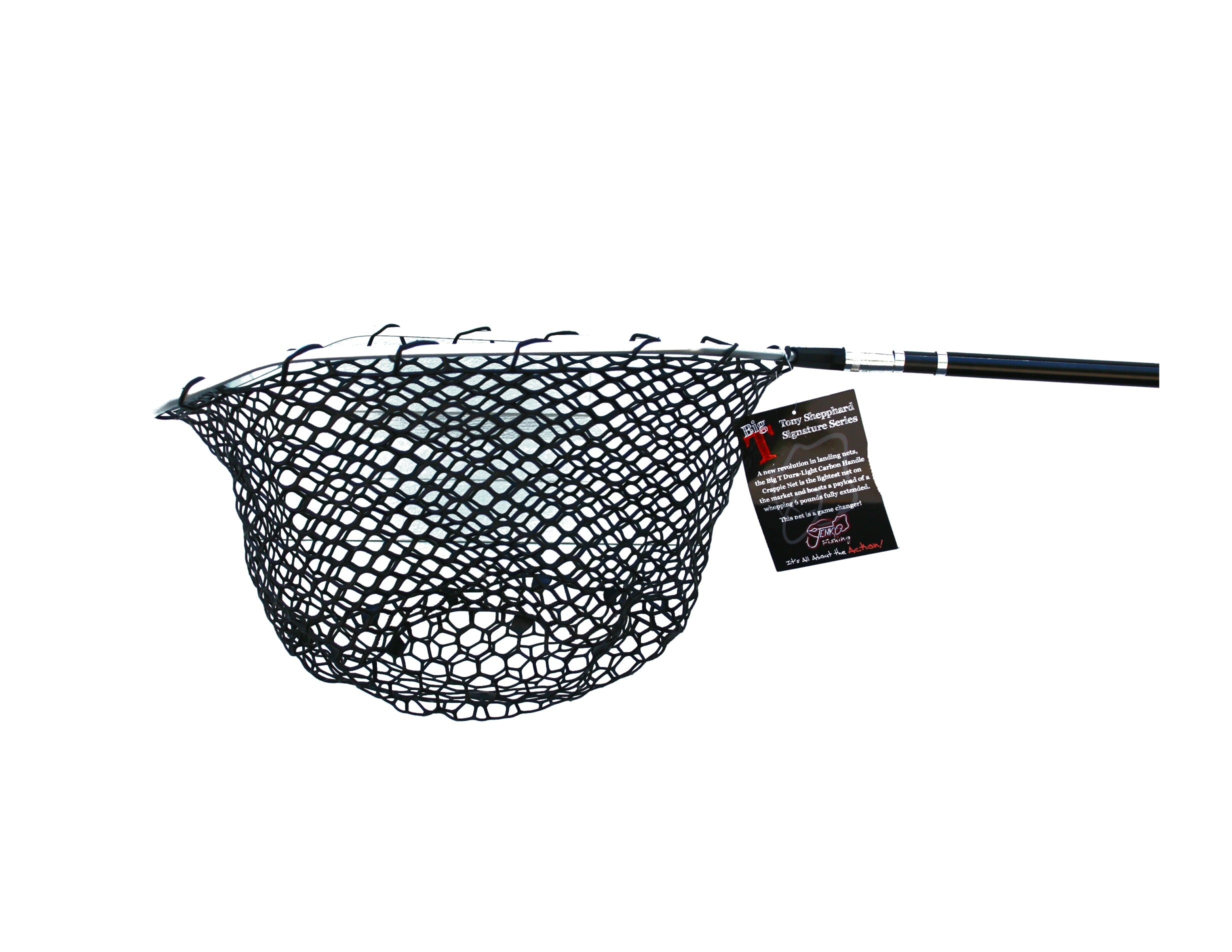 Big T Duralite Rubber Net Head