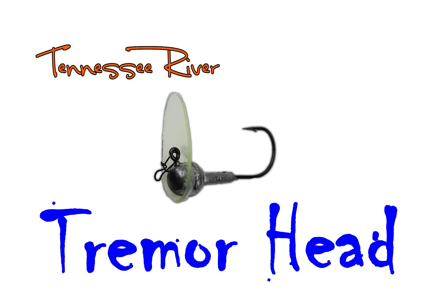TN River Tackle's Tremor Head - Long Bill - 2 pack ( 1/4  3/8 1/2 3/4 )