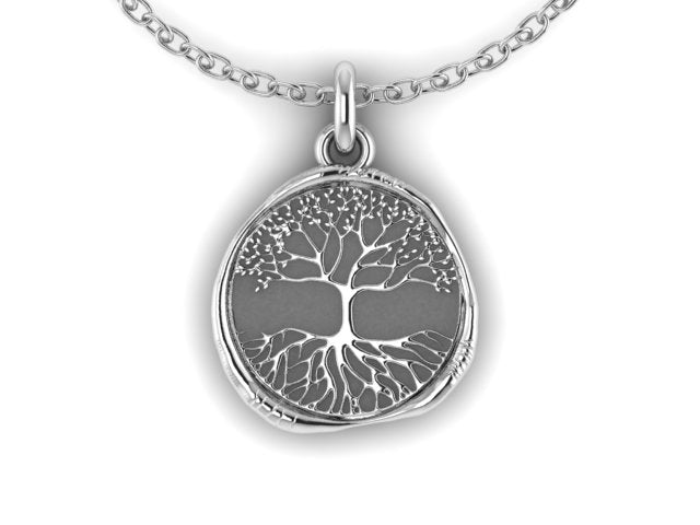 Large Wax Seal Restore17 Tree of Life Necklace