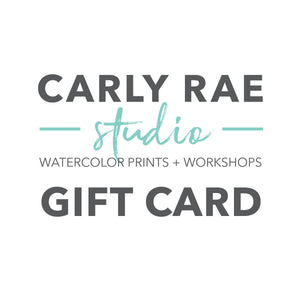 Carly Rae Studio Gift Card