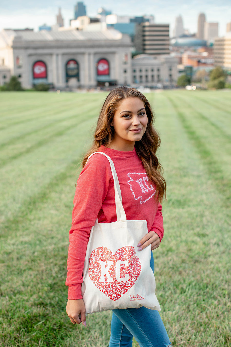 Kansas City Arrowhead Sweatshirt - Unisex Fit
