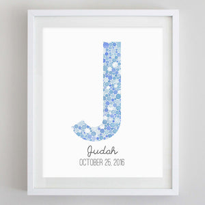 Custom Watercolor Print - WITH OVERSIZED MAT