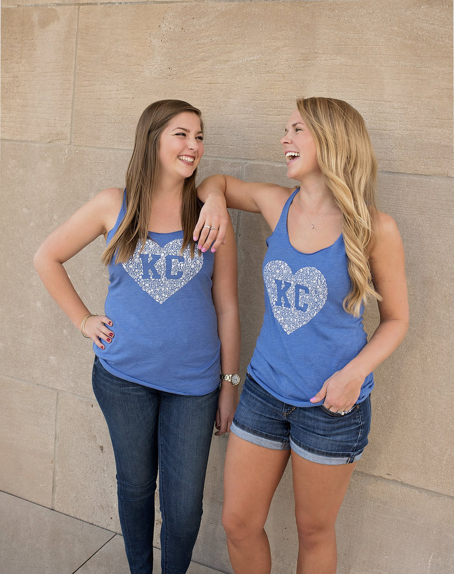 Kansas City Floral Tank Top