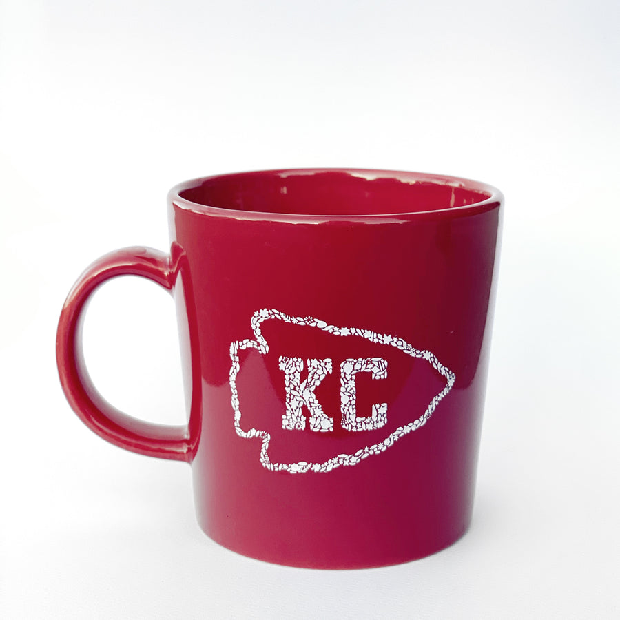 Kansas City Arrowhead Red Mug