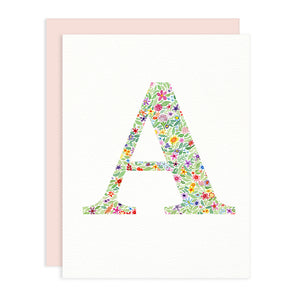 Monogram Greeting Card