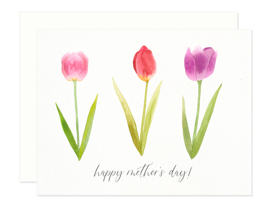 Mother's Day Tulip Greeting Card