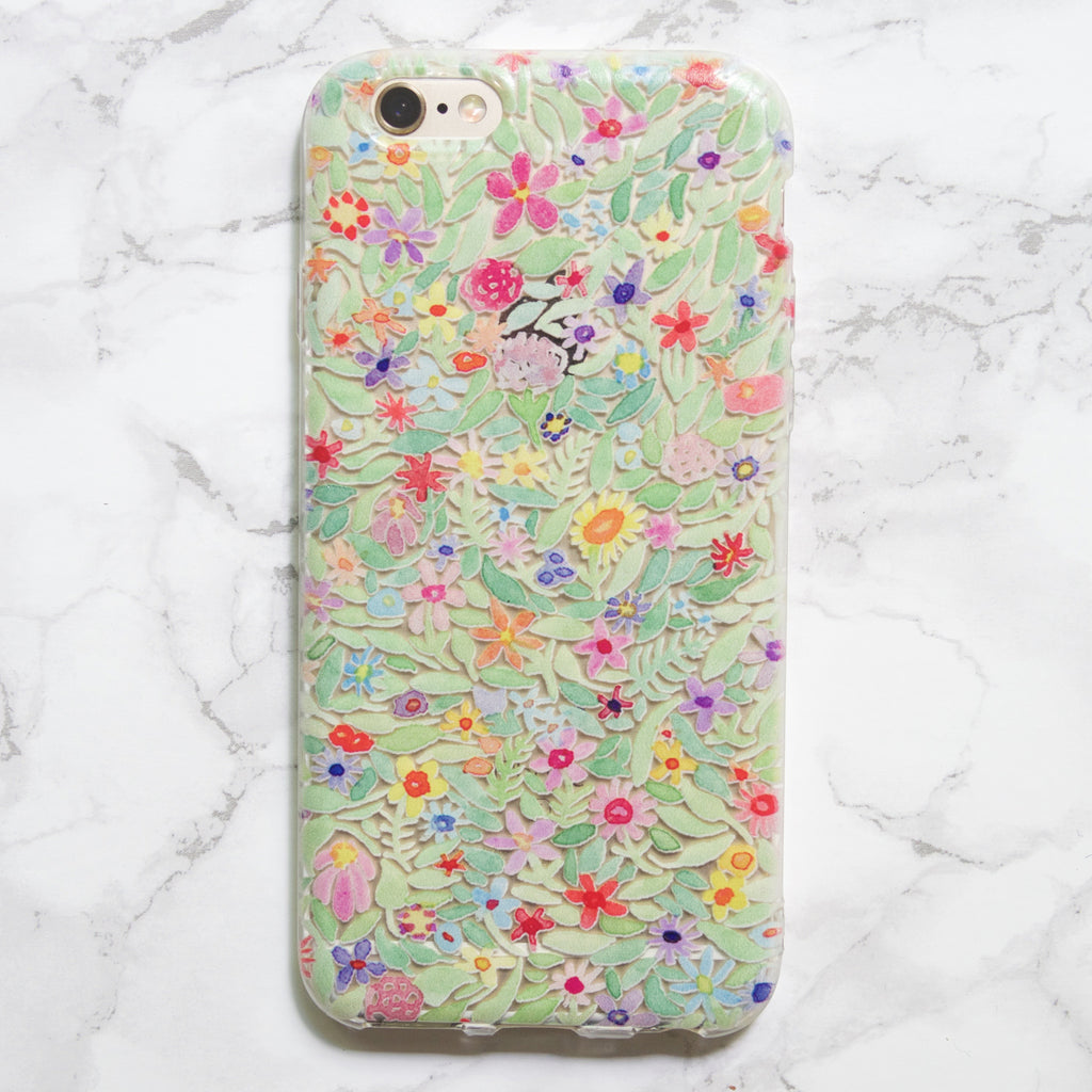 Any Size iPhone Case with Watercolor Print