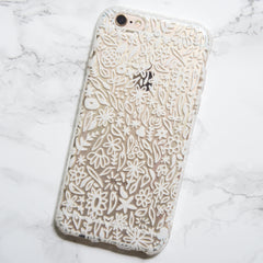 iPhone 6 or 7 Case with Watercolor Print