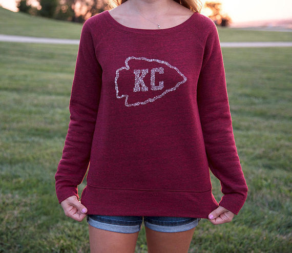 Women's Kansas City Arrowhead Sweatshirt