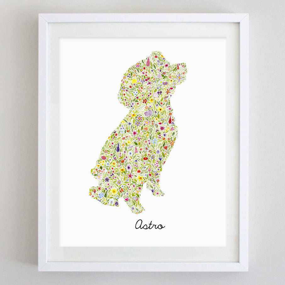 art print - custom watercolor print - carly rae studio
