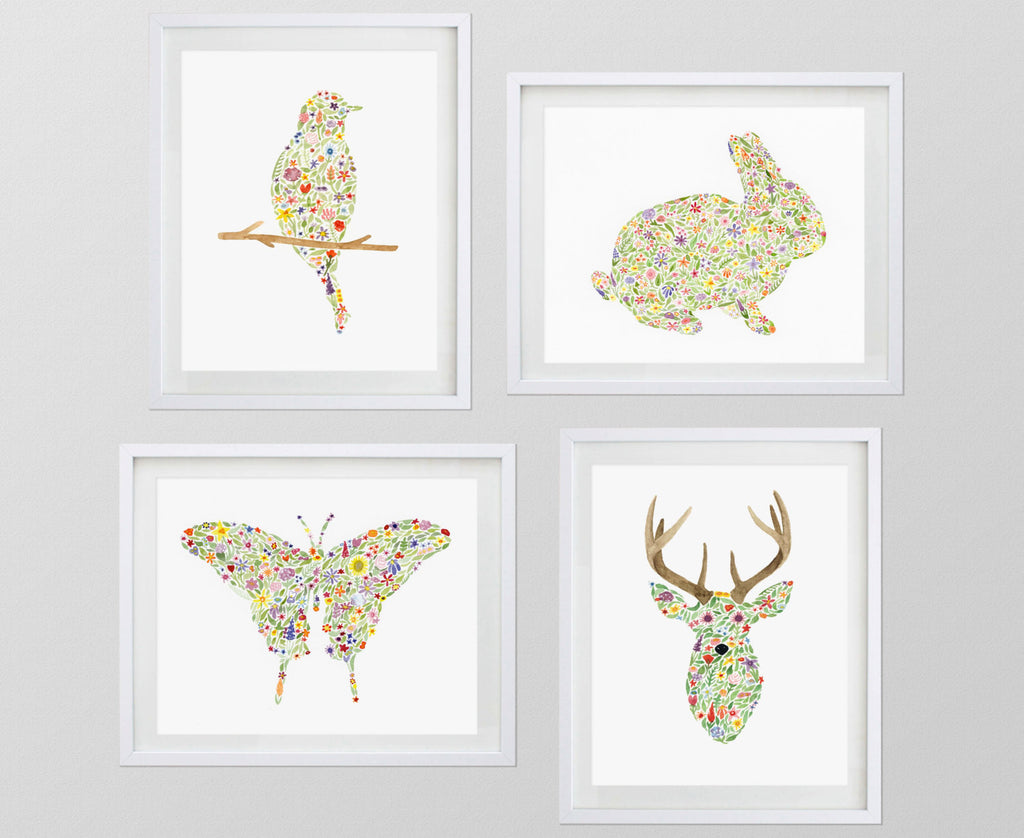 "ANY 5 8x10"" Watercolor Art Prints from my Shop"