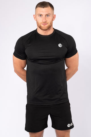 Mens Black HEX T-shirt