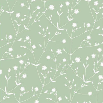 Illalla Wallpaper in Green