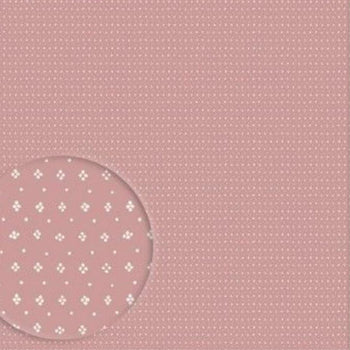 Muija Dot Wallpaper White on Pink