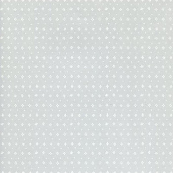 Muija Dot Wallpaper White on Grey
