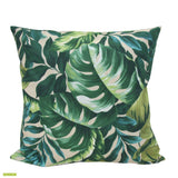 Leafy Tangle in green Outdoor Cushion Cover 50cm