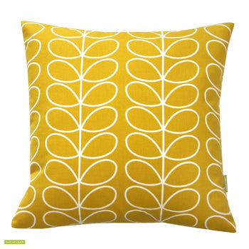 Linear Stem 40x40cm Cushion Cover in Dandelion Yellow