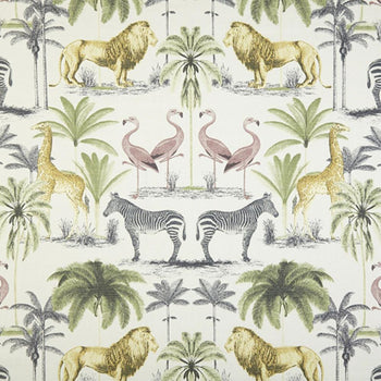 Zoology Fabric in everglade