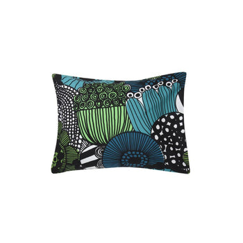 Siirtolapuutarha  Pillow Case 50x70/75 cm in white, green, black