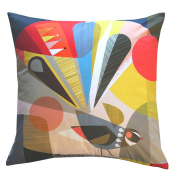 Fantail Cushion 43cm in multi