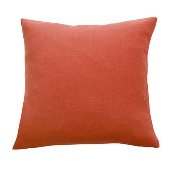 Haven Linen Cushion 45cm in paprika