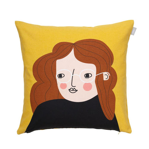 Bia Face Cushion Cover 50cm
