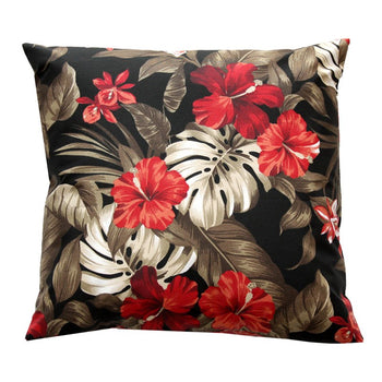 Maui Outdoor Cushion 50cm in Black