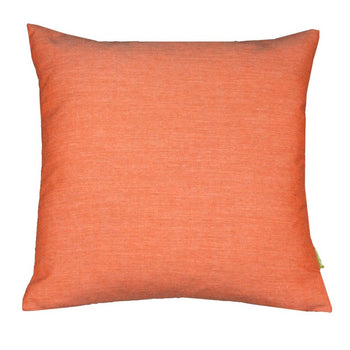 Outdoor Canvas Cushion Cover 43cm in coral