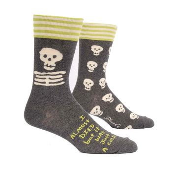 Men's Socks - I Almost Died