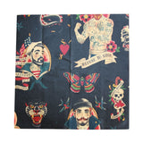Anchors Away Large Beeswax Wrap in black