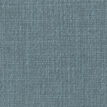 Hudson Linen Blend Fabric in azure