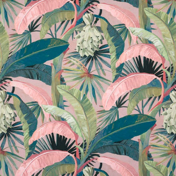 Tropicalia Outdoor Fabric in hollywood