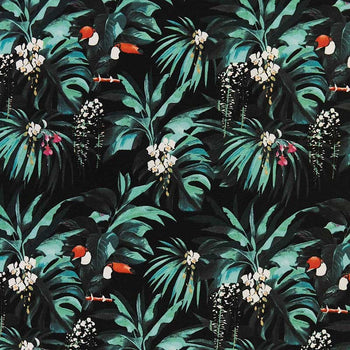 Maguana Preto Outdoor Fabric