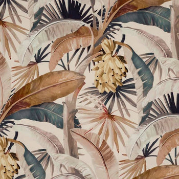 Tropicalia Outdoor Fabric in gilver