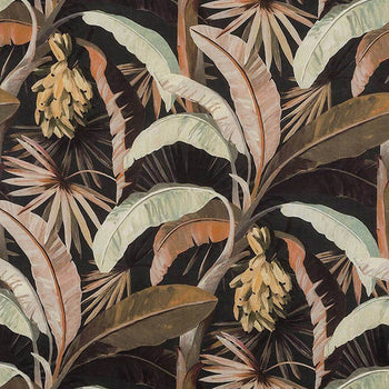 Tropicalia Outdoor Fabric in sepia