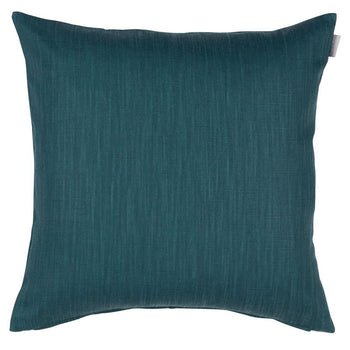 Slat Cushion 60cm in teal