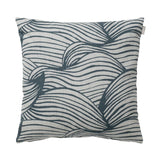 Wave Cushion 50cm in blue