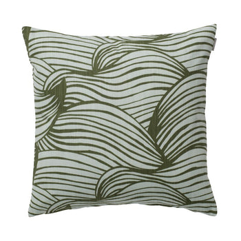 Wave Cushion 50cm in green
