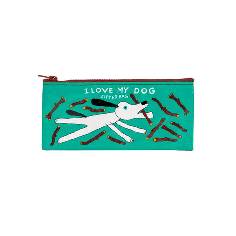 Pencil Case - I Love My Dog