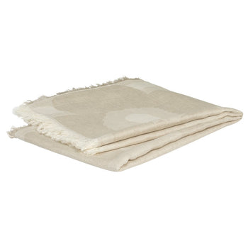 Unikko blanket 146x188cm in off-white, beige