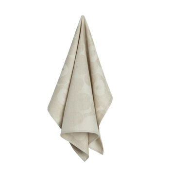 Pieni Unikko Kitchen Towel 50x70cm in off-white, beige